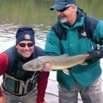 Ken Freudenberg with Bull trout on the Blackfoot